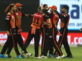 IPL 2020 DC vs SRH Match 47:Saha, Warner flatten Delhi to their third straight loss